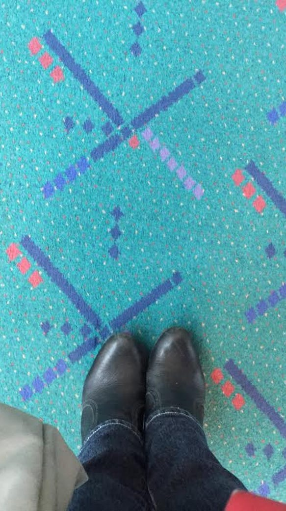 Get a piece of the world's most famous airport carpet