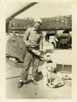 Sid Duerr enlisted in the Navy at the age of 17. He was a sailor on the U.S.S. Baltimore during World War II.