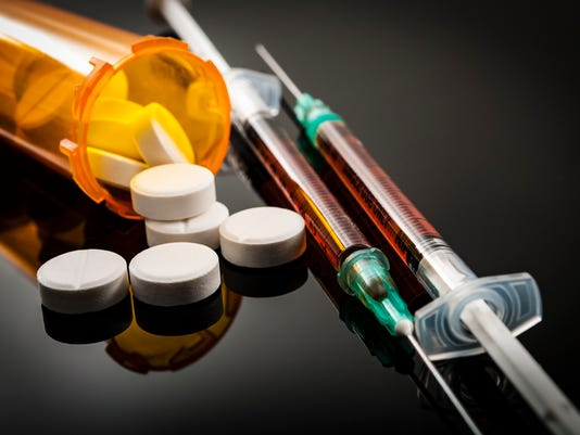 Opioid epidemic, drug abuse concept