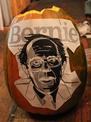 Ashley Campbell started her #Bernkin by taping an image