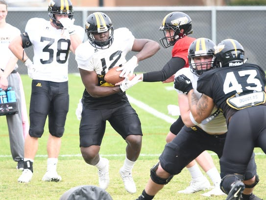 Southern Miss running back Steven Anderson signed with