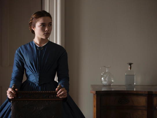 """Florence Pugh stars in """"Lady Macbeth,"""" opening Friday,"""