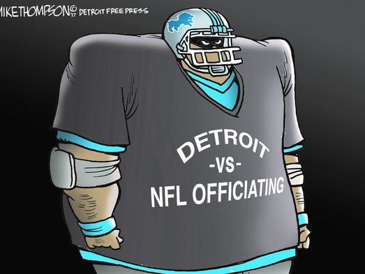 The Detroit Lions can't get a break.
