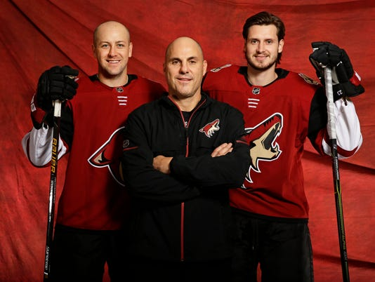 Arizona Coyotes Media Day 2017
