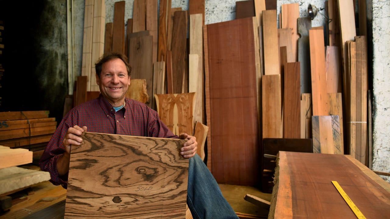 Jim McNutt plans on selling his Woodstream Hardwoods business