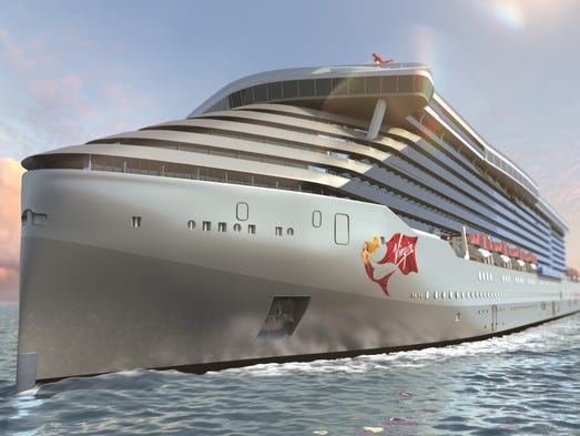 Virgin Voyages First Cruise Ship To Be For Adults Only - How many knots does a cruise ship go