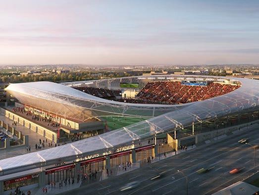 Mercedes Benz St Louis >> Louisville City FC hires HOK to design future stadium