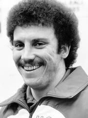 Dick Nalley, in 1980 as a member of the U.S. Olympic bobsled team