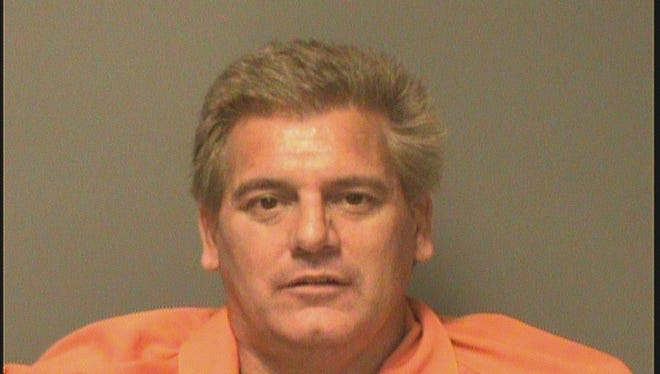Chad Hale, 41, of Des Moines allegedly led police on a chase, which ended with a police dog biting and retrieving him on Tuesday.