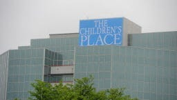 The Children's Place, which has its headquarters in Secaucus, saw its shares soar following a strong earnings report.