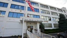 Paterson's school board headquarters.