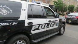 Millburn Police Department vehicle.