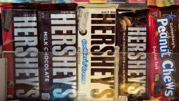 Hershey's is lowering the calorie count on its sweets.