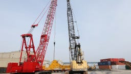 Manitowoc Co. is selling off its crane manufacturing  equipment in Manitowoc as the company moves that work to Pennsylvania.