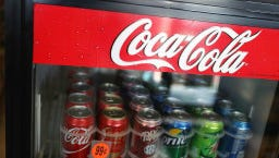 A South Dakota man claims he found a dead mouse in a can of Coca-Cola.