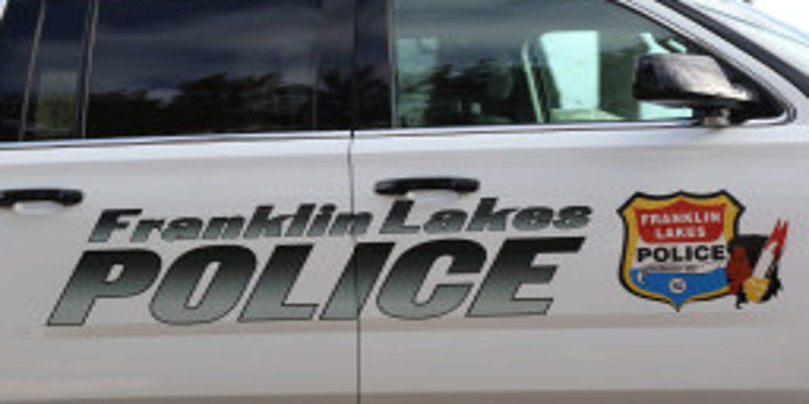Officer injured pursuing stolen car in Franklin Lakes