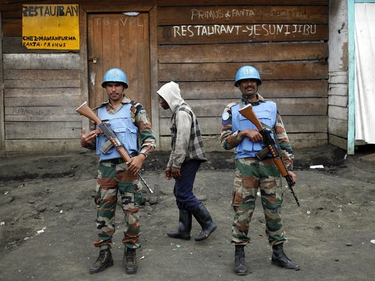 Congo Peacekeepers Killed