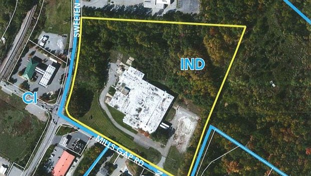 Land at the corner of Mills Gap and Sweeten Creek roads has been approved for construction of 272 apartments.