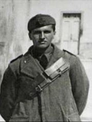 Elio DeAngelis was an Italian prisoner of war held at Letterkenny Ordnance Depot during World War II before returning to Italy.