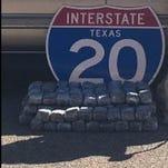 2 El Pasoans arrested in I-20 marijuana bust
