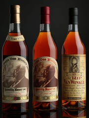 Pappy Van Winkle bottles