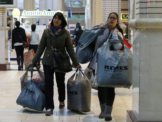 Retailers Offer Deep Discounts On Annual Black Friday Shopping Day