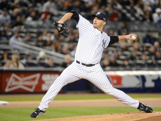 Andy Pettitte won five World Series titles with the Yankees.