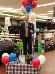 During a free musical performance at Inserra Supermarkets'