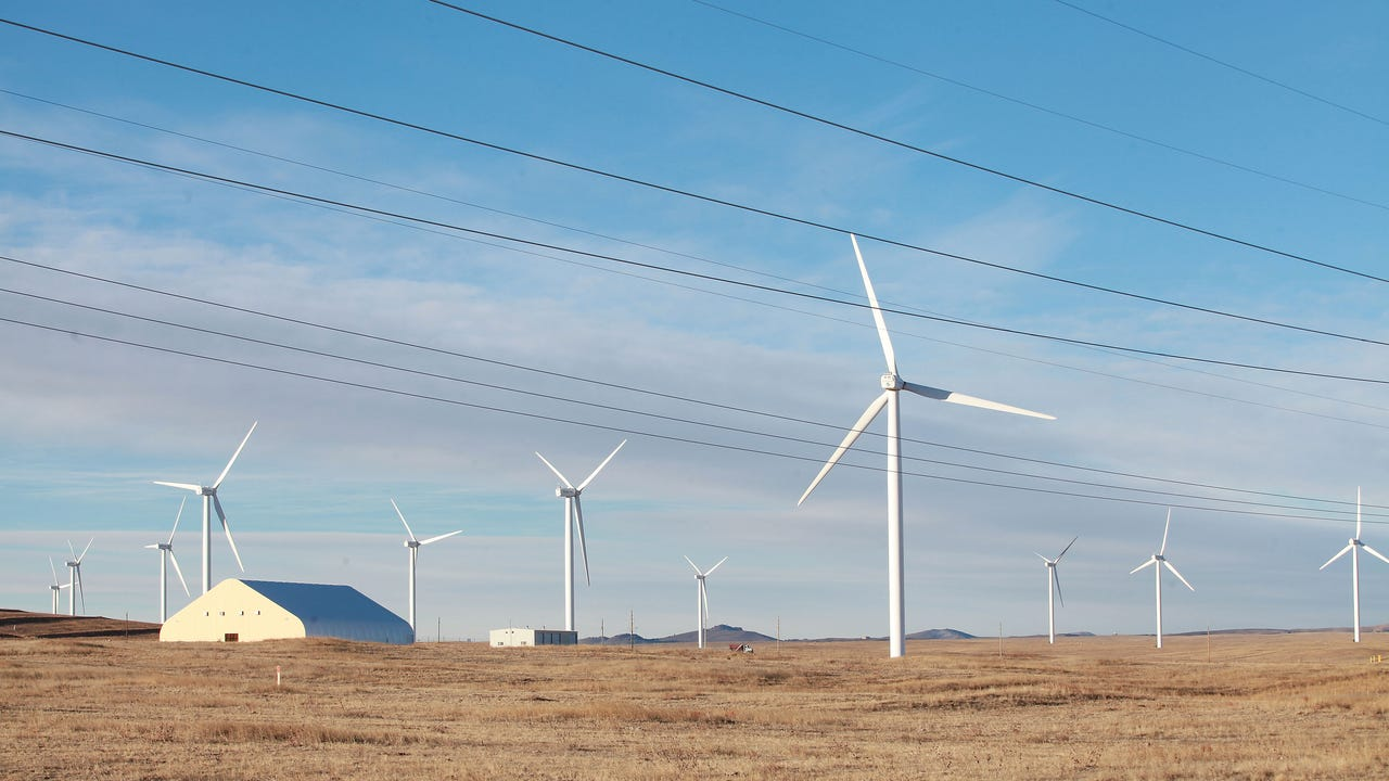 The conservative billionaire Philip Anschutz wants to build America's biggest wind project in Wyoming and send the electricity to California. But politics could get in the way. (file, 2017)