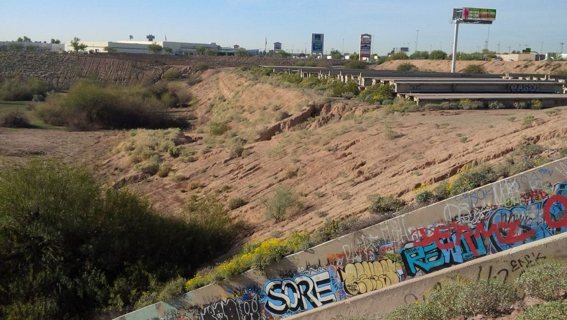 What The Heck Is That Giant Pit Off I 10 In Tempe