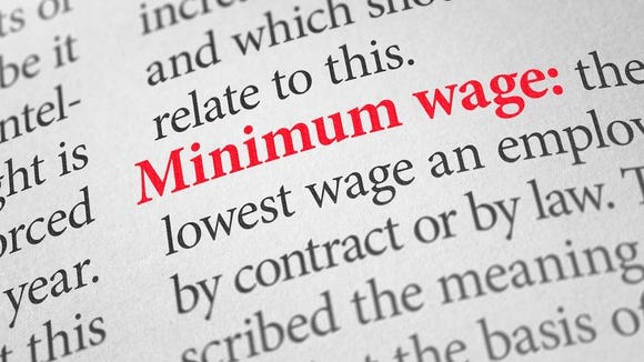 The state minimum wage rises 15 cents, from $8.15 per hour to $8.30, effective Jan. 1.