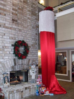 Atrium Senior Living of Wisconsin Rapids at River Run hopes to fill its 15-foot stocking with new toys, clothes, gift cards and monetary donations for local children ages 4 to 12. Items will be collected through Dec. 18.