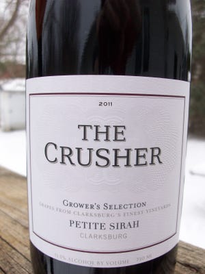 "The Crusher ""Grower's Selection"" Petite Sirah 2011 is a good wine for the price."