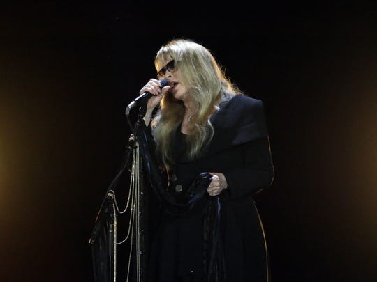 Stevie Nicks had done 53 shows on her 24 Karat Gold Tour when the calls kept coming for more dates. Wednesday's concert before a crowd of 6,389 at the Resch Center launched a new round of dates and was her first performance in nearly two months.