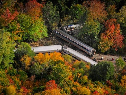 APTOPIX Vermont Train Derailment