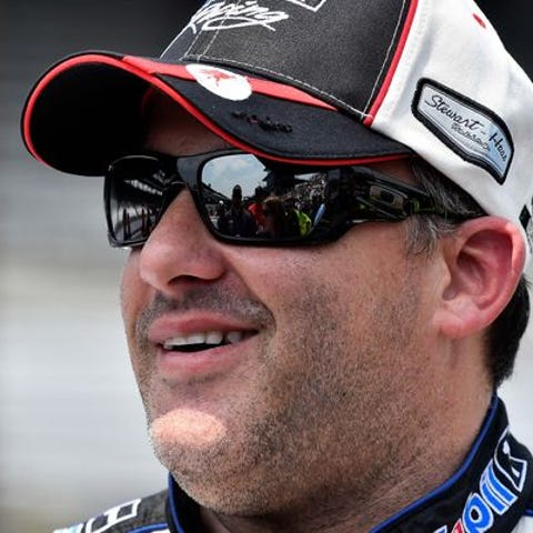 Tony Stewart stars in the Columbus, Ind. Police...