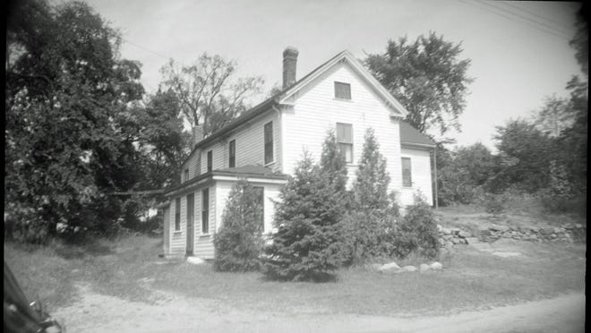 Blanche Chapman's house at 799 Central Avenue as it looked in 1948 (Needham History Center & Museum, from an Assessor's record photo now in the Needham Free Public Library).