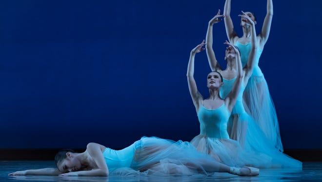Serenade: Cincinnati Ballet Dancers