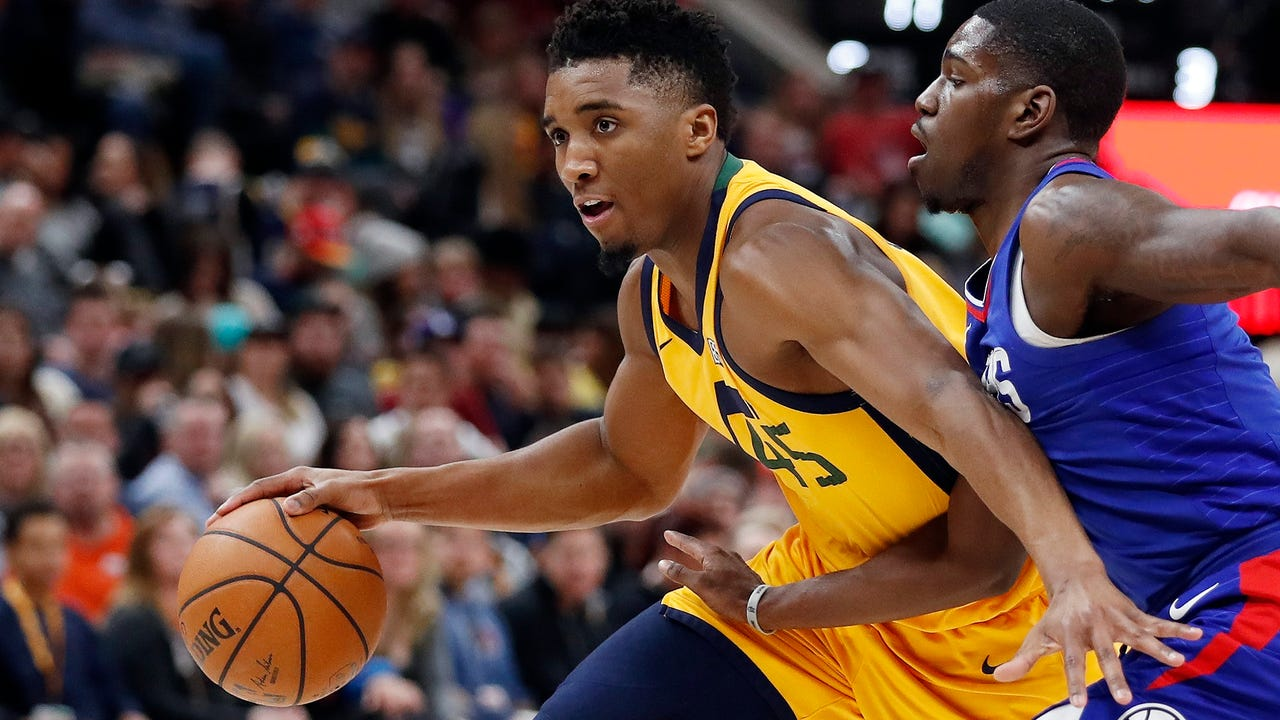 Dunk contest winner Donovan Mitchell discusses his meteoric rise