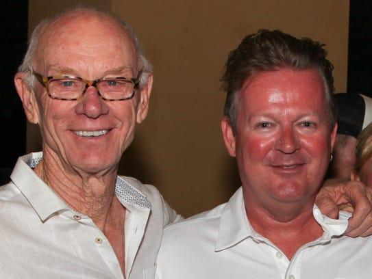 Developers John Wessman,  left, and Richard Meaney.