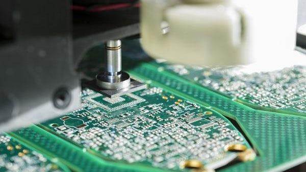 A circuit board by Elmgrove Technologies.