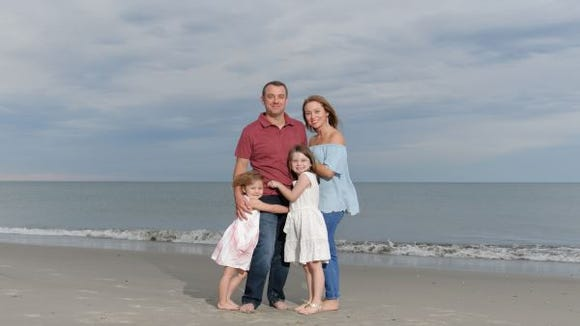 Melissa Mazzella DeLaney and her family.