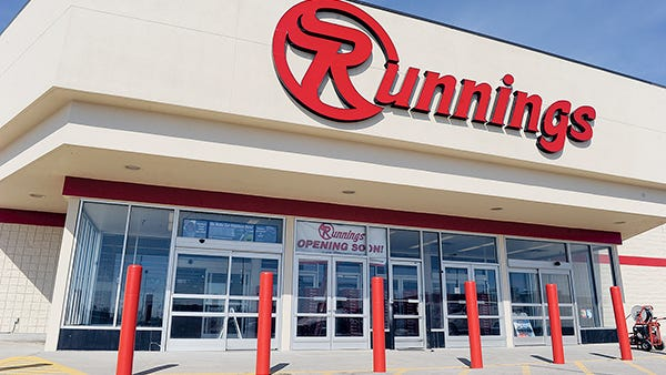 Midwest retailer Runnings said it will be opening three stores in upstate New York.