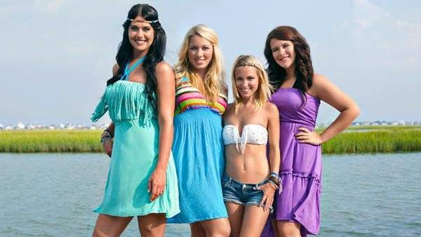 "Mattie, Tiffany, Lil Bit and Lauren from the cast of CMT's ""Party Down South."""