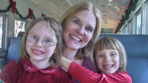 Theresa Gorski, who died in January after an alleged attack by her husband, is pictured with her two daughters, ages 5 and 8. (Photo courtesy of Jo Anne Gorski)