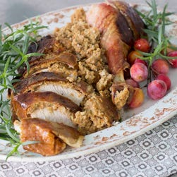 The turkey is the centerpiece of the Thanksgiving Day meal.