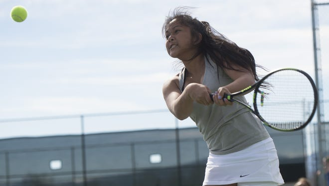Fossil Ridge's Shawnea Pagat starts the state tournament on Thursday. She's qualified at No. 1 singles all four years.