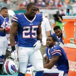LeSean McCoy, Sammy Watkins ruled out for Giants game