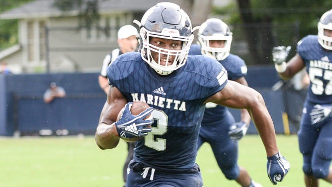 Marietta (Ga.) tight end Arik Gilbert (Photo: Johnny Walker)