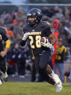 Waverly's Jaden Sutton broke off a 63-yard touchdown in last week's loss, and it was voted the LSJ high school video of the week.
